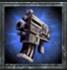 Bolt pistol blue