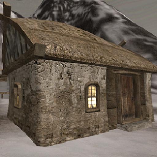 Stone Hut front