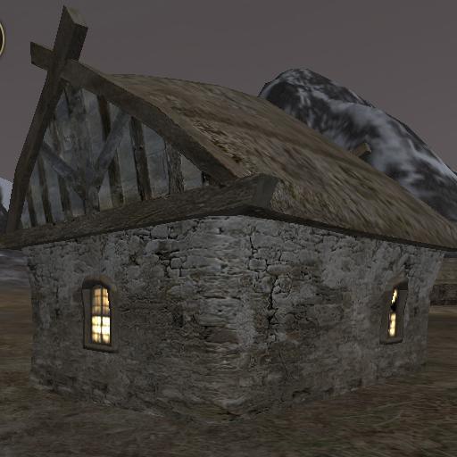 Stone Hut back