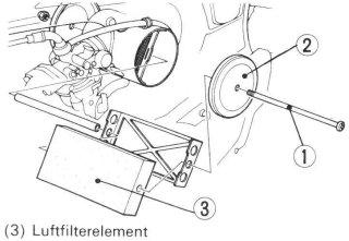 Luftfilter element