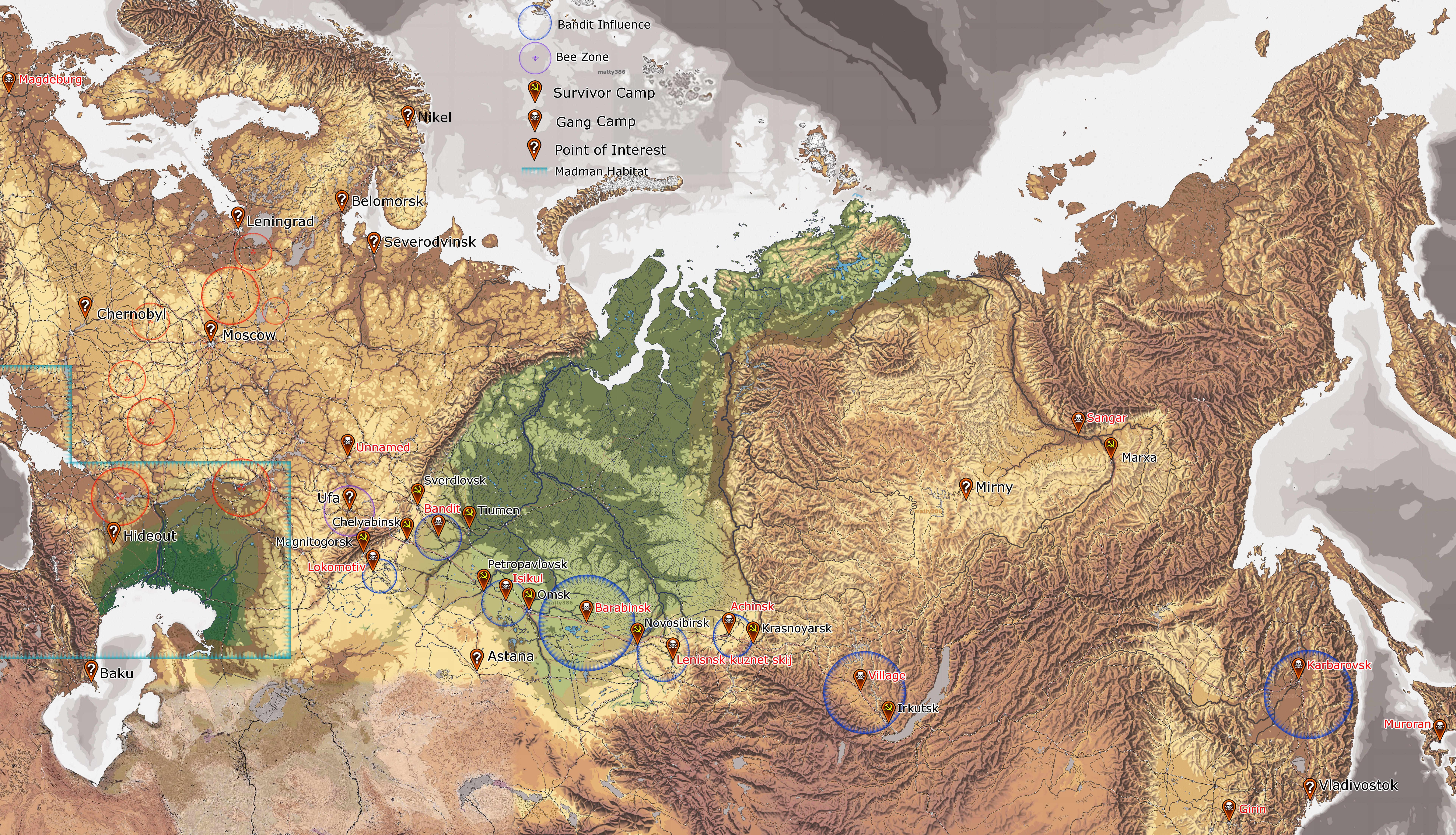 World Map | DayR Wikia | FANDOM powered by Wikia