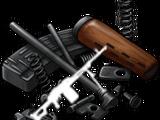 Machine gun parts