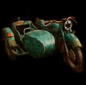 Broken moto