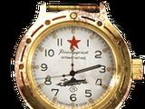 Gold Vostok watch