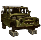 Disassemble uaz