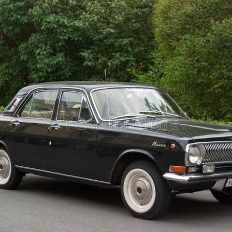 A real black GAZ-24