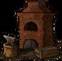 Forge chimney off