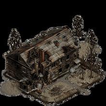 Ruin wooden