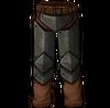 Iron leg armor