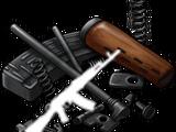 Assault rifle parts