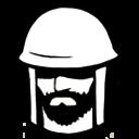Military armor icon