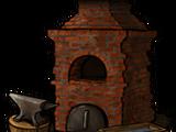 Forge chimney
