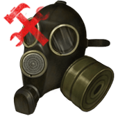 Противогаз ГП-7 (сломан)