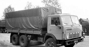 КамАЗ 1986 года