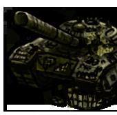 Сломанный танк Т-72 Урал (старый)