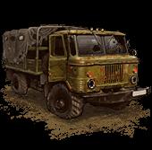 Сломанный ГАЗ-66