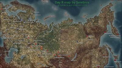 Исилькуль карта