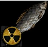 Заражённая рыба