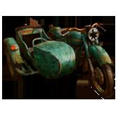 Сломанный мотоцикл