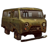 Сломанный УАЗ-452