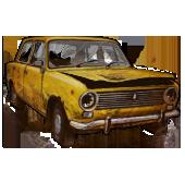 Сломанный ВАЗ-2101