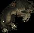 Туша волка