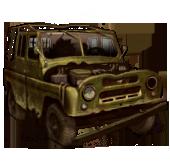 Сломанный УАЗ-469
