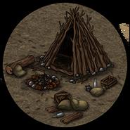 Лагерь (шалаш)