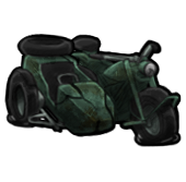 Сломанный мотоцикл (старый)