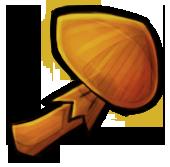 Оранжевый гриб (старый)