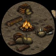 Лагерь (костёр)