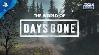 Days Gone Launch-Countdown Welt PS4 deutsche Untertitel