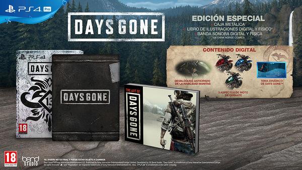 Days Gone Edición Limitada