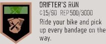 Drifter's run achievement