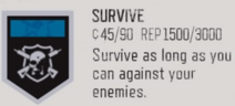 Survive trophy