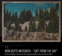 Iron butte meteorite