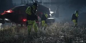 NERO personnel secure a perimeter