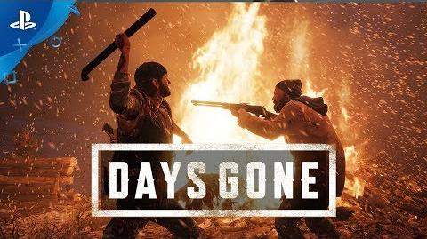 Days Gone - PS4 Gameplay E3 2017