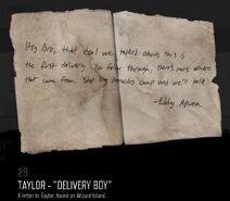 Taylor letter