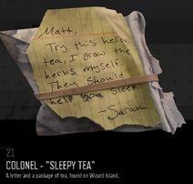 Colonel tea
