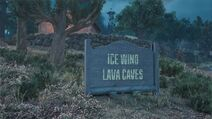 Ice wind lava caves