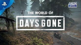 Days Gone - The World of Days Gone - PS4