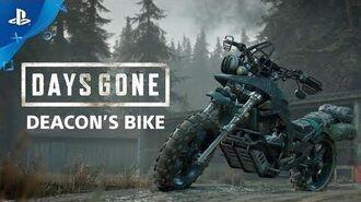 Days Gone - Deacon's Bike - PS4