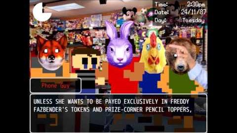 Meeting the bullies again (Dayshift at Freddy's 2)