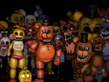 Minor Animatronic characters | Dayshift at Freddy's Wikia
