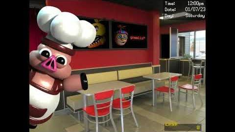 Porkchop in the Dining Area (DSaF 3 Demo)