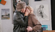 Stevano kisses Hattie thinking she is Marlena