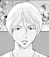 Usui's face