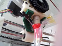 Extruder-mounted