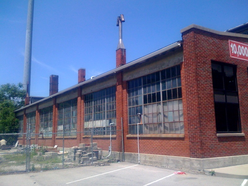 Warehouse side